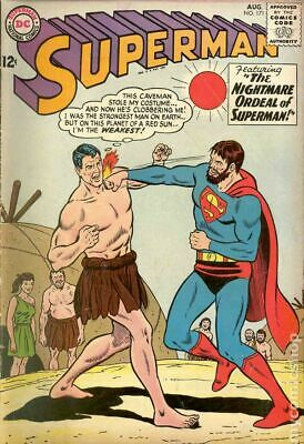 Superman (1st Series) #171 1964 GD/VG 3.0 Stock Image Low Grade