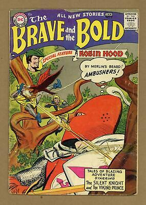Brave and the Bold (1st Series DC) #9 1956 FR/GD 1.5