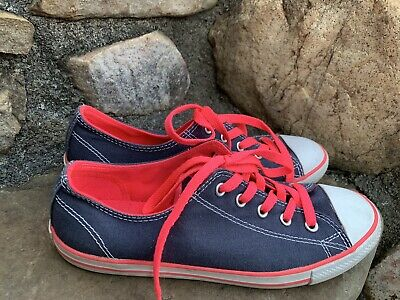 Converse All Star Shoes 7/38 Great Condition boho retro Casual Dress