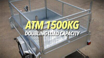WI CAMPERS & TRAILERS NEW 8X5 HEAVY DUTY(1500Kg) BOX TRAILER SALE