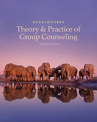 NEW - Free Ship - Theory and Practice of Group Counseling by Corey (9 Ed)