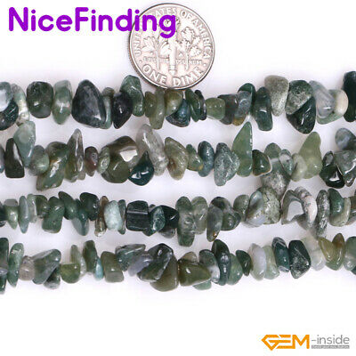 Natural Gemstone Chips Beads Freeform Agate Jewelry Making Necklace Bacelet 34""