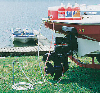 CAMCO BOAT MARINE Inboard / Outboard Flushing & Preparation