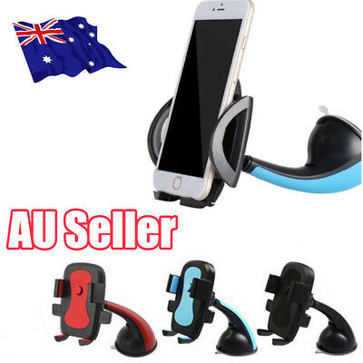 Universal 360 Car Mobile Phone Windscreen Suction Mount Dashboard Holder GPS 6J