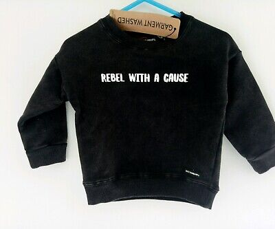 Rock Your Baby size 0 jumper baby boys RYB BNWT