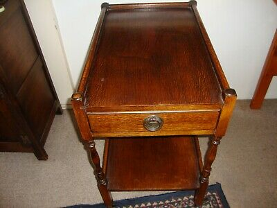 Antique Dumb Waiter, with Drawer,  2 tier, good condition