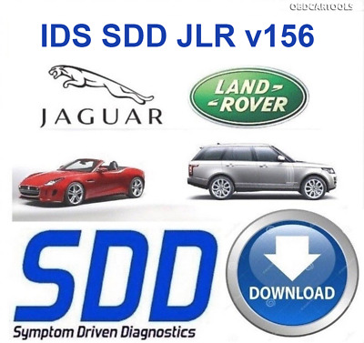 JLR IDS SDD v156 ACTIVATED 2019 Jaguar Land Rover Dealer Diagnostic++