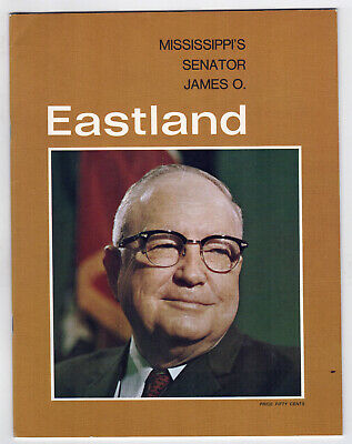 1960s MISSISSIPPI Political Publication US SENATE James Eastland SENATOR Jackson