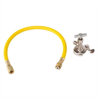 Car A//C R12 R22 R134A Can Tap Tapper Refrigerant Charging Recharge Hose Valve