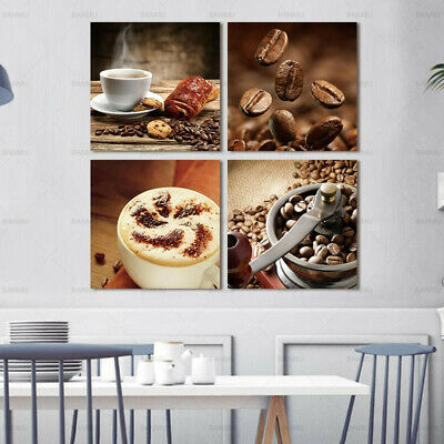 Coffee Beans Canvas Painting Wall Art Picture HD Print Home Decor