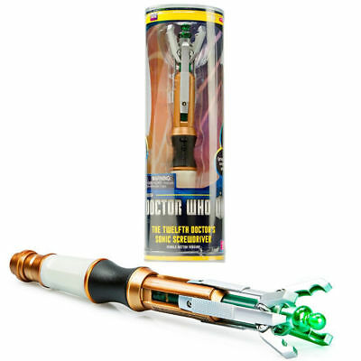 Doctor Who Sonic 10th 11th 12th Screwdriver Official Electronic Light&Sounds Toy
