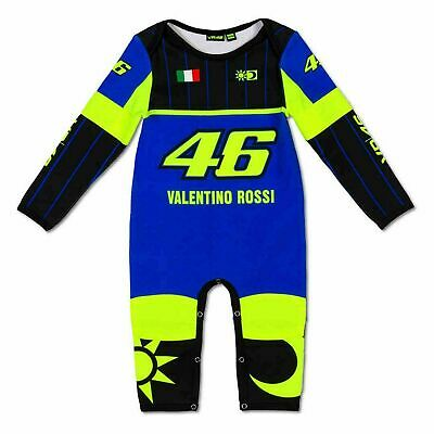 Valentino Rossi Leather Replica VR46 Baby Overall For 6 Months Baby 363409