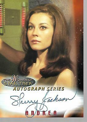 Tradingcards - 1x Star Trek: In Motion: The Women of - Autograph Card - Jackson