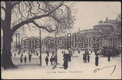 GES Genève - Tram CGTE - Theater