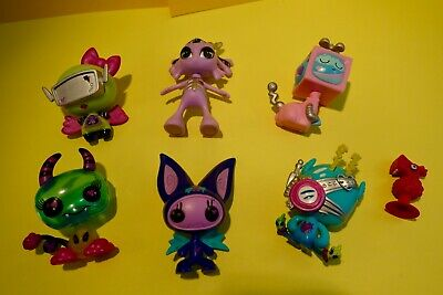 "Monster High / Bratz /other ? 6 assorted scary looking ""pets"" some marked MGA"