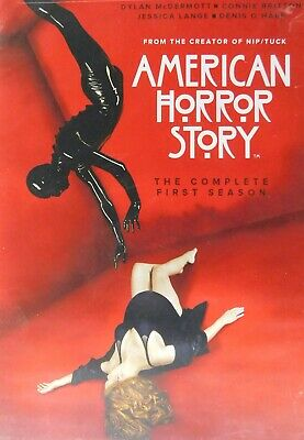 AMERICAN HORROR STORY The COMPLETE FIRST SEASON All 12 Episodes+Special Features