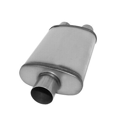 One New Starla Exhaust Muffler Center 4253 811253409J for Audi Coupe