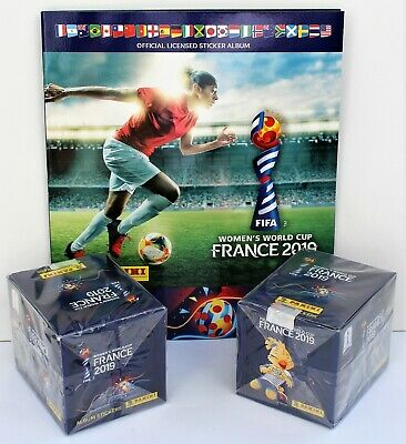 Panini Women´s World Cup 2019 France - 2 x box including 50 packs + empty album