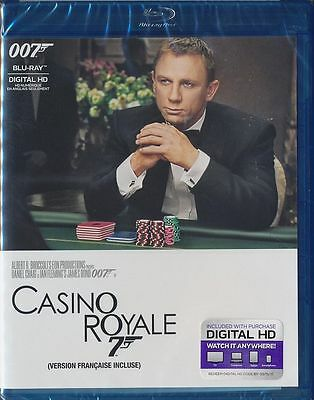 Casino Royale (Blu-ray, 2015, Canadian) BRAND NEW