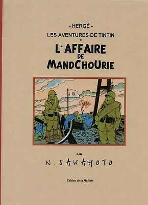 PASTICHE Tintin - L'Affaire de Mandchourie. Cartonné 48 pages couleurs.