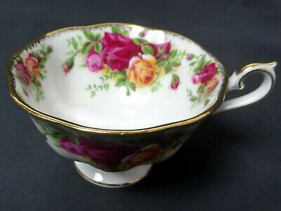 Old Country Roses 'Avon' Shape Tea Cup, Gc, 1973-2002, England, Royal Albert