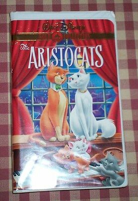 Walt Disney Gold Collection The Aristocats Vhs 19696 Mar 10 2000 Family Children