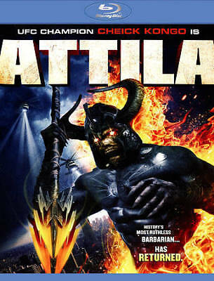 Attila (Blu Ray) ***DISC ONLY*** LIKE NEW - NO CASE -ADDITIONAL MOVIES SHIP FREE
