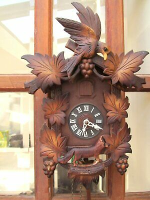 Black Forest Style German Made Working Cuckoo Clock
