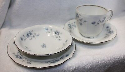 Vintage Johann Haviland Bavaria Germany Blue Garland set of 4 pcs