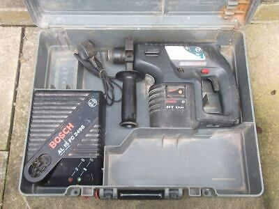 Bosch GBH 24VRE  hammer Drill, Charger And X1 3.0Ah battery