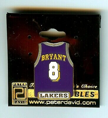 c2eefeda5fa NBA Los Angeles Lakers Officially Licensed Kobe Bryant #8 Jersey Lapel Hat  Pin