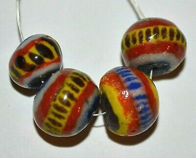 Kiffa African Powder Glass Beads Beginning Of 1990s Production Mauritania Africa