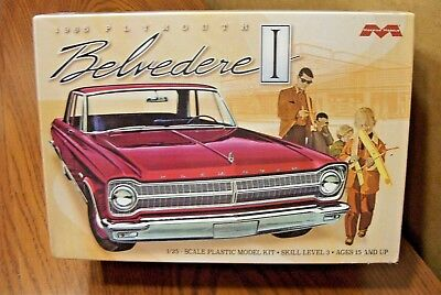 Moebius Models 1965 Plymouth Belvedere 1/25 Scale Model Kit