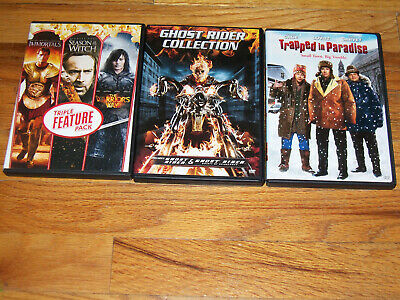 Nicolas Cage DVD trapped in paradise/ghost rider collection/season of the witch