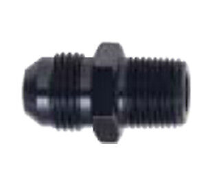 x 3//4 MPT Straight Adapter Fitting Fragola 481609-BL Black Size -10