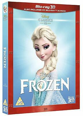 FROZEN (2013) 3D + 2D Blu-Ray Disney Pixar with slipcover BRAND NEW Free Ship
