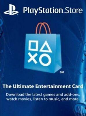 PlayStation Network Gift Card 50 USD PSN UNITED STATES (ONLY US$ 51.50)