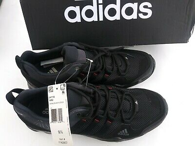 87a1e274f53 Adidas mens AX2 Black Outdoor Trail Hiking Shoes size 9.5. New in box!