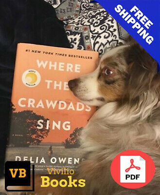 🔥🔥 [P▫️D▫️F] Where The Crawdads Sing🔥🔥 by Delia Owens ⚡ INSTANT DELIVERY⚡