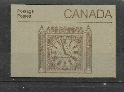 pk42965:Stamps-Canada #BK88b Parliament Booklet - Peace Tower Cover