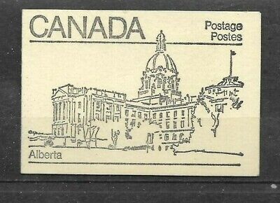 pk42954:Stamps-Canada #BK82 Stylized Maple Leaf Booklet - Alberta Cover
