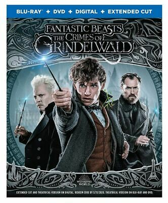 Fantastic Beasts The Crimes of Grindelwald Blu-ray/DVD Extended Cut