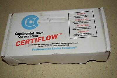 "Continental Disc 1-1/2"" Rupture Disc -New  (O)"