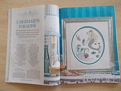 Embroidery & Cross Stitch Vol 14 #10~Mermaid~Lefkara~Daisy~Hydrangea~Posy~Box