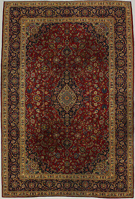 Antique Traditional 8X12 Handmade Vintage Persian Rug Oriental Home Décor Carpet