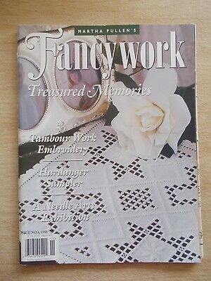 Martha Pullen's Fancywork #6~Treasured Memories~Hardanger~Embroidery~Baby Jacket