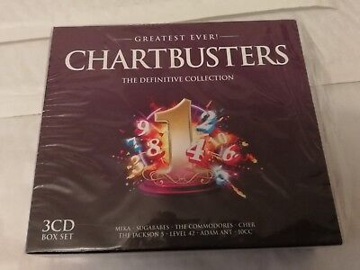 Various Artists - Greatest Ever Chartbusters (2012) CD X 3