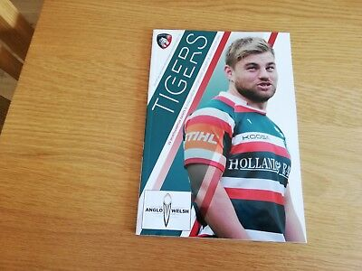 2016-17 Leicester Tigers v Northampton Saints - Anglo Welsh Cup