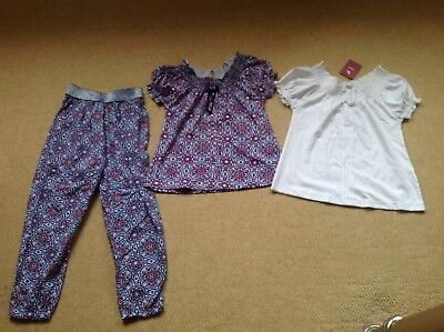 New With Tags Trousers And 2 Tops By Tu In Size Age 6 Yrs