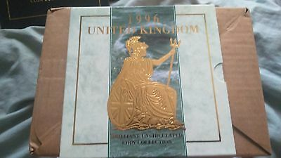 1996 Uk Brilliant Uncirculated Coin Collection